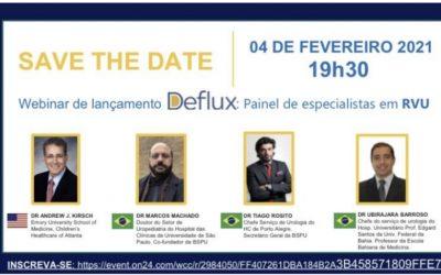 Webinar de lançamento Deflux: Painel de especialistas em RVU