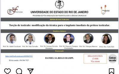 UNIVERSIDADE DO ESTADO DO RIO DE JANEIRO: PROGRAMA DE PÓS-GRADUAÇÃO EM FISIOPATOLOGIA E CIÊNCIAS CIRÚRGICAS